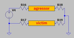 SPICE解析用回路図